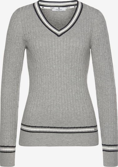 Tom Tailor Polo Team Sweater in mottled grey, Item view