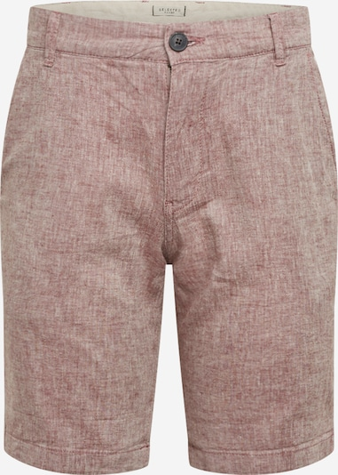 SELECTED HOMME Shorts in rotmeliert, Produktansicht
