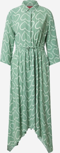 LIEBLINGSSTÜCK Robe-chemise en vert clair: Vue de face