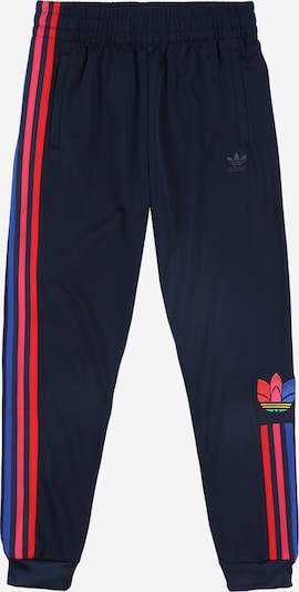 ADIDAS ORIGINALS Hose in navy / rot, Produktansicht