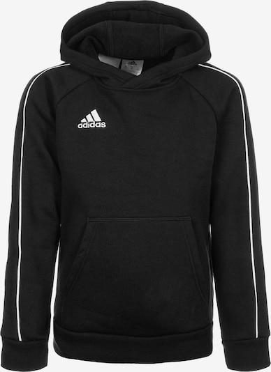 ADIDAS PERFORMANCE Sweatshirt 'Core 18' in schwarz / weiß, Produktansicht