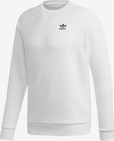 ADIDAS ORIGINALS Sweatshirt 'Essential' in de kleur Wit, Productweergave