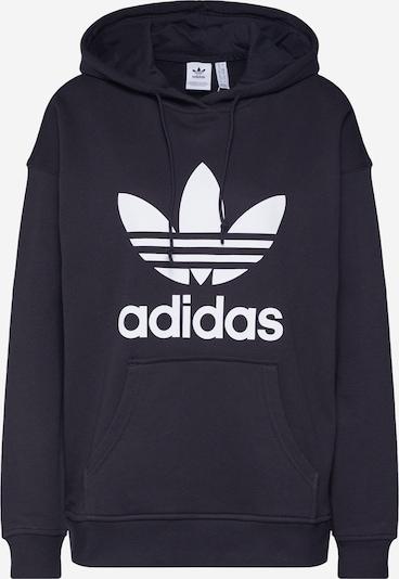 ADIDAS ORIGINALS Sweatshirt in Zwart / Wit mFY5G7OD