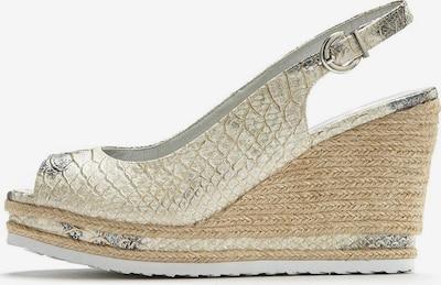 LASCANA Sandalette in beige: Frontalansicht