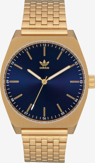 ADIDAS ORIGINALS Damen - Uhren 'Process M1' in blau / gold, Produktansicht