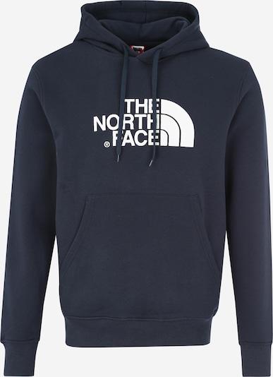 THE NORTH FACE Sweatshirt 'Drew Peak' in dunkelblau / weiß, Produktansicht