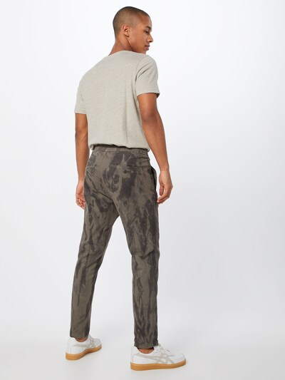 DRYKORN Pantalon 'JEGER' en gris / kaki: Vue de dos
