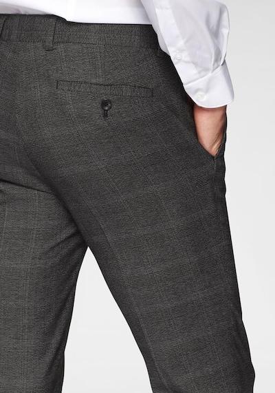 BRUNO BANANI Anzug in dunkelgrau / schwarz, Produktansicht