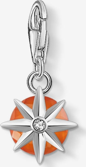 Thomas Sabo Pendant 'Geburtsstein Januar' in Dark orange / Silver, Item view