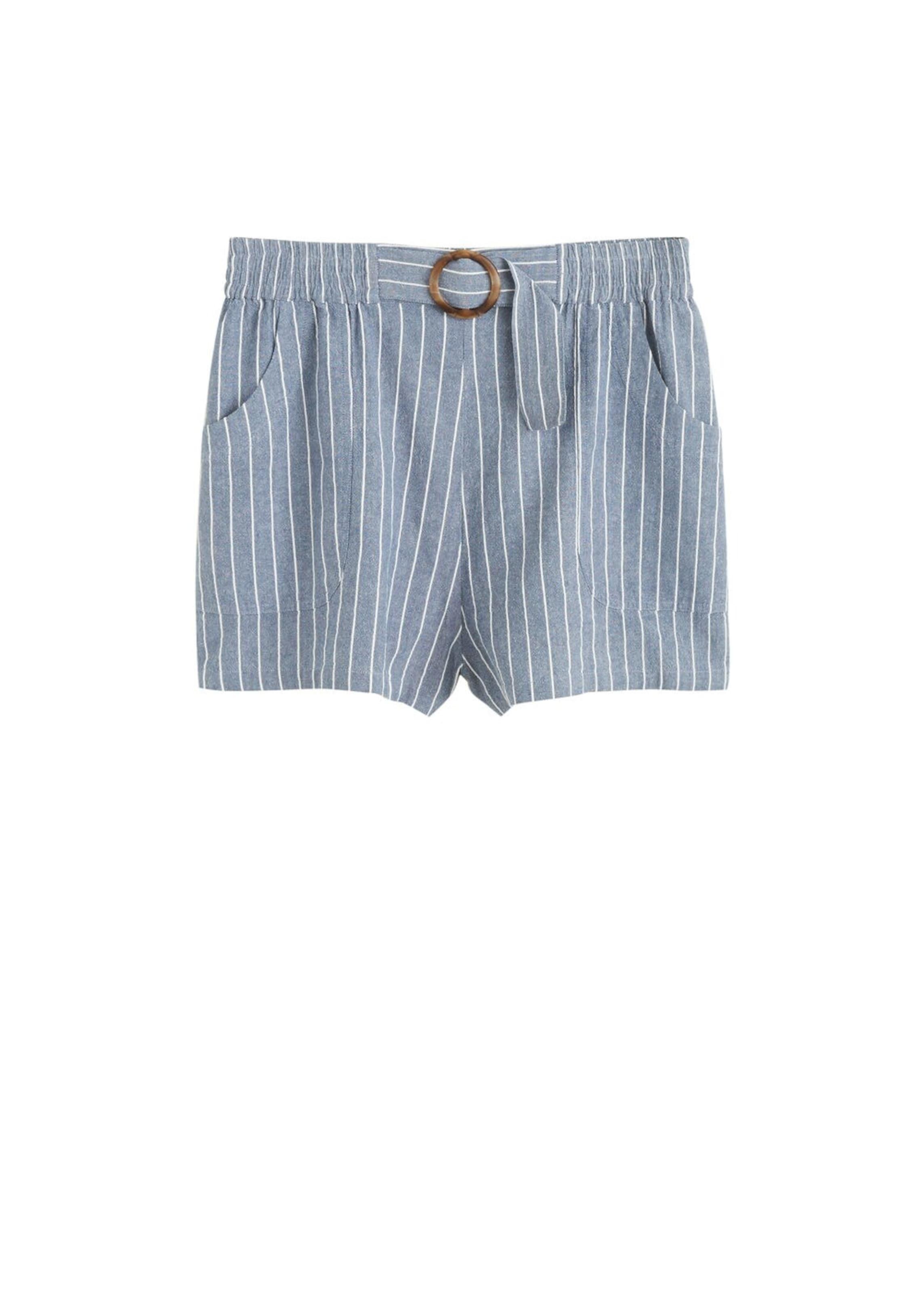 In Shorts By 'small' Violeta TaubenblauWeiß Mango tshQCxoBrd