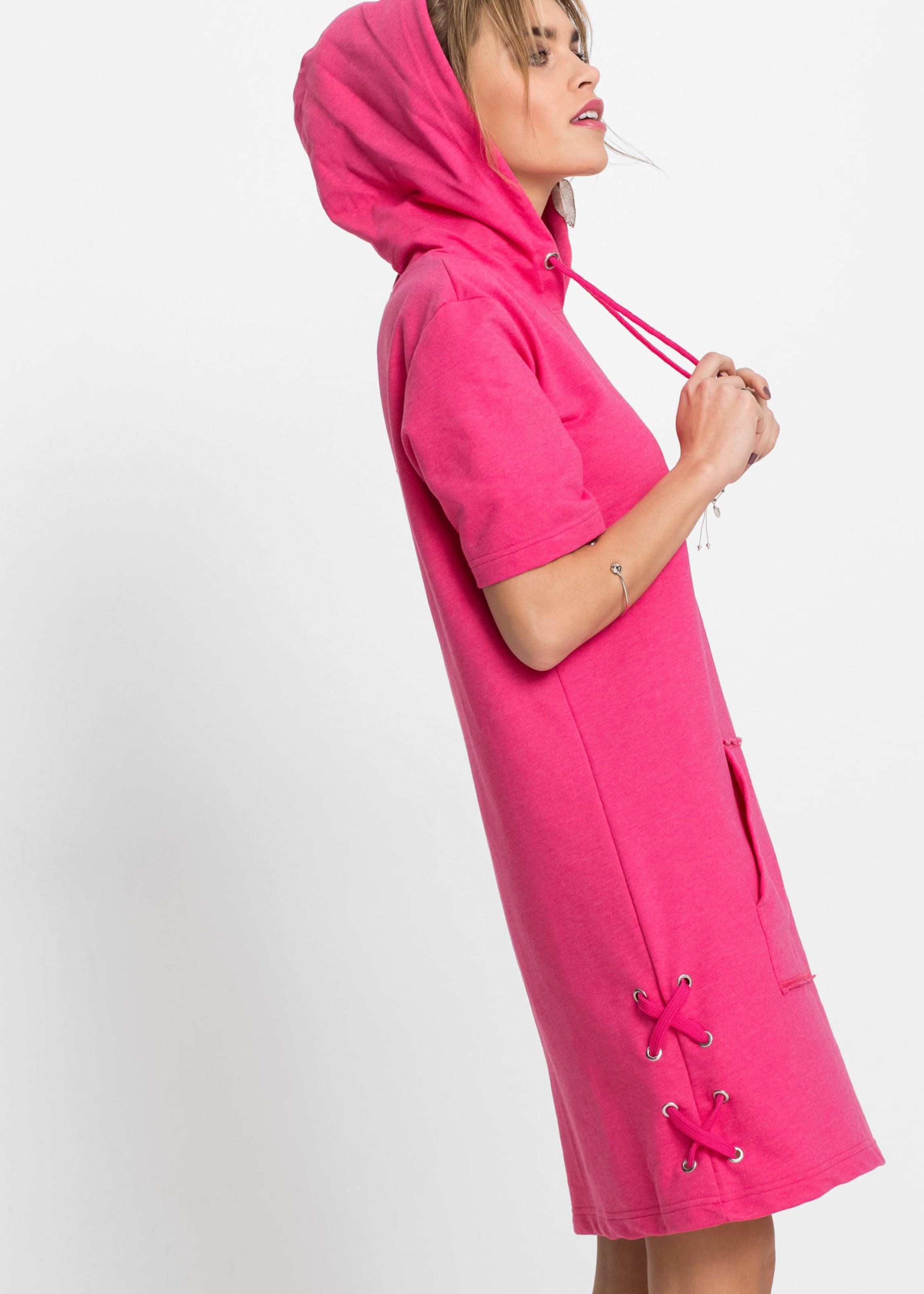 In Shirtkleid Bonprix Schnürung Mit Pink 80mnwN