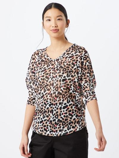 Hailys Pullover 'Lisa' in braun / schwarz, Modelansicht