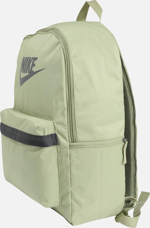 cu ridicata economii fantastice concept nou Nike Sportswear Rucsac 'Heritage 2.0' pe gri / verde pastel ...