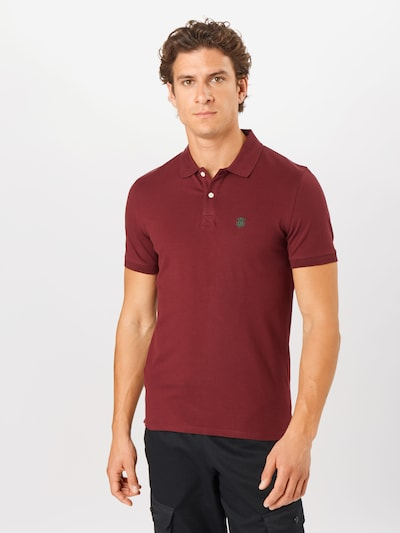 SELECTED HOMME Poloshirt 'Daro' in weinrot: Frontalansicht