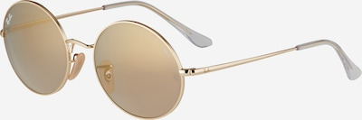 Ray-Ban Zonnebril in de kleur Goud / Taupe, Productweergave
