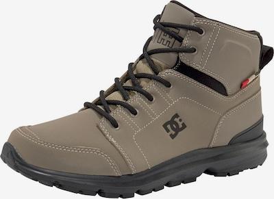 DC Shoes Sneaker 'Torstein' in dunkelbeige / feuerrot / schwarz, Produktansicht