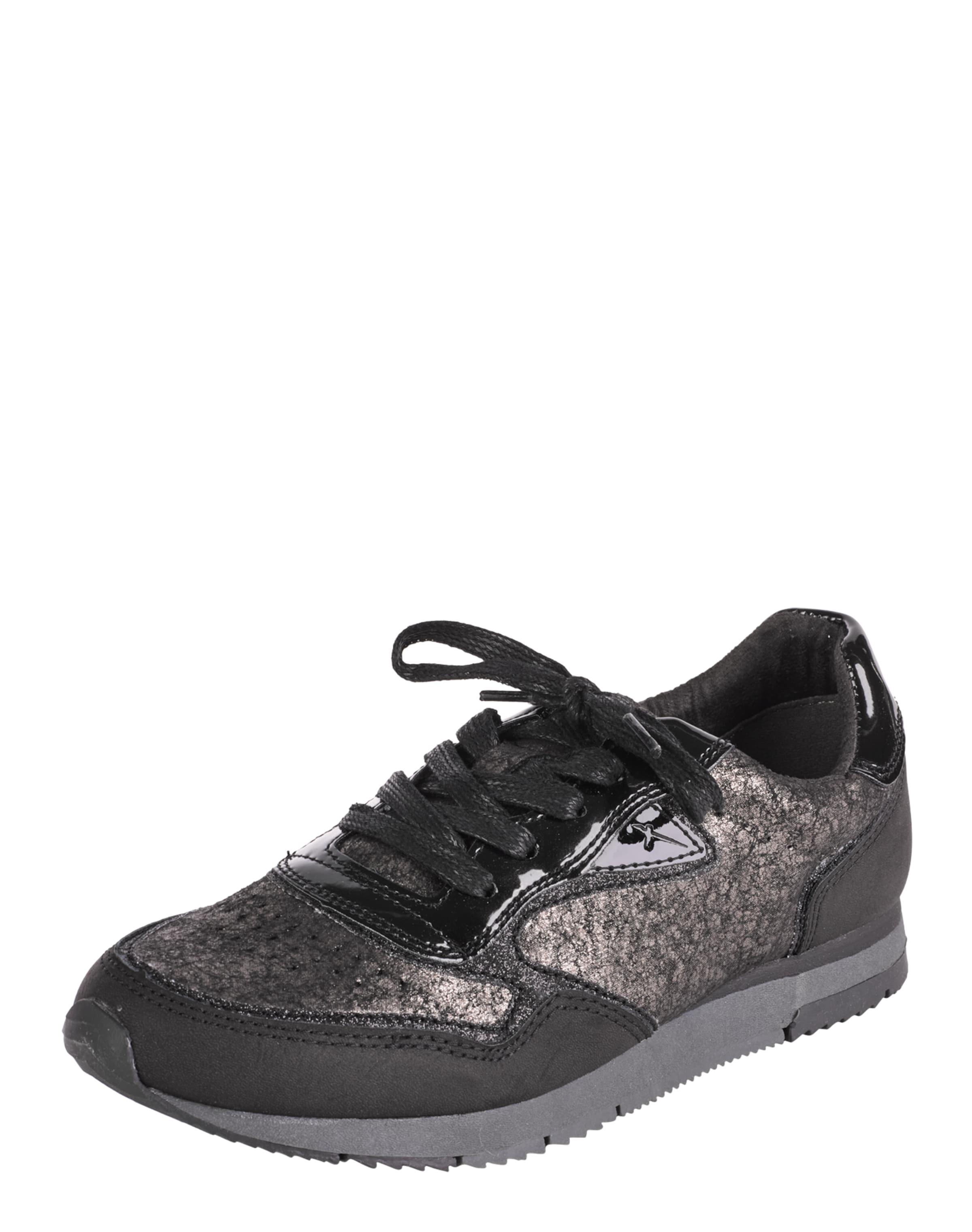 Rabatt Wie Viel Rabatt Mit Kreditkarte TAMARIS Sneakers mit Metallic-Design 2018 Neueste Online-Verkauf Footlocker Zum Verkauf d2z77irU2