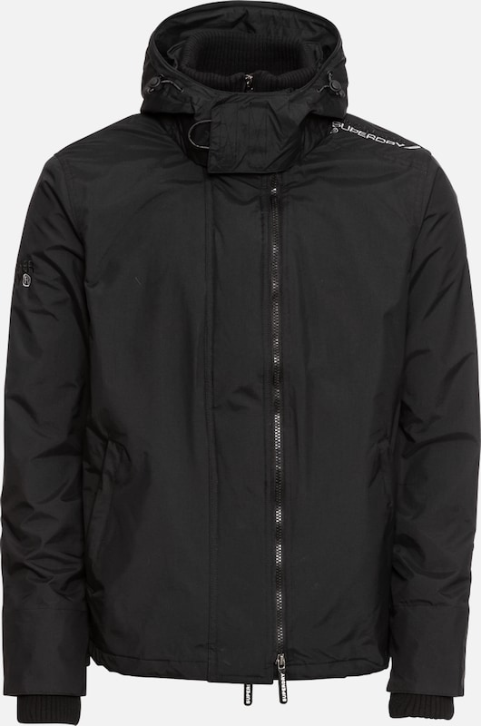 Windcheater' Zip Noir 'arctic Hooded En Superdry Veste saison Pop Mi 2EIWDHYe9