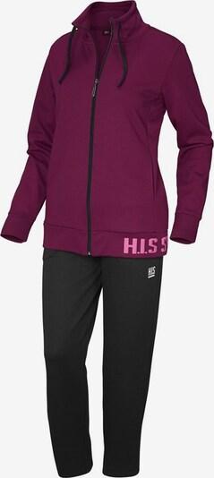 H.I.S Jogginganzug in beere, Produktansicht