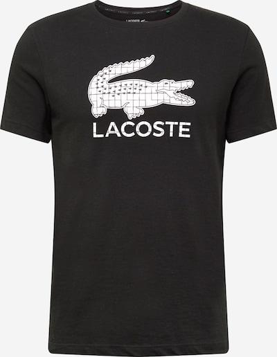 Lacoste Sport T-Shirt in schwarz / weiß, Produktansicht