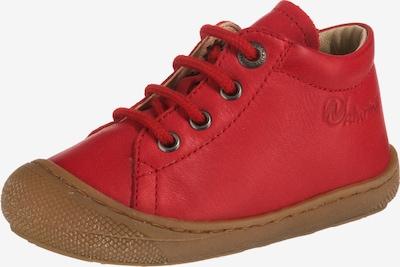 NATURINO Chaussure basse 'Mini' en rouge feu, Vue avec produit