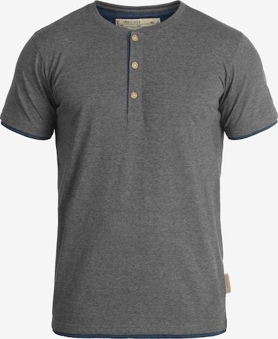 INDICODE JEANS Shirt 'Tony' in blau / grau / dunkelgrau / graumeliert, Produktansicht