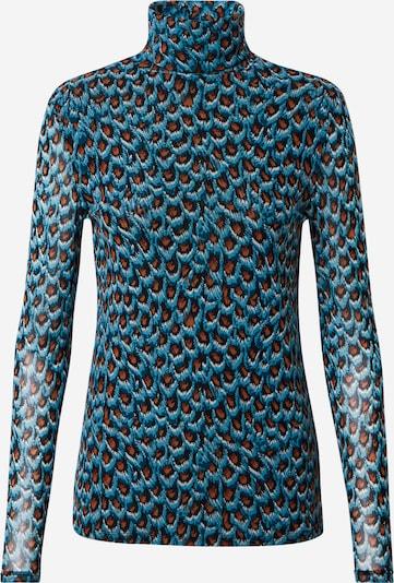 Fabienne Chapot Koszulka 'Jane' w kolorze niebieski / pomarańczowy / czarnym, Podgląd produktu