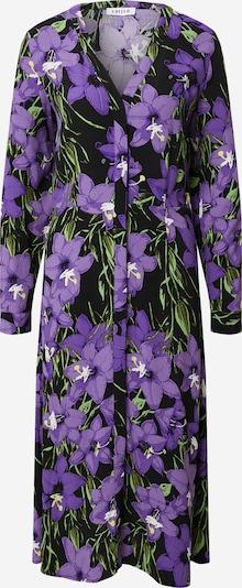 EDITED Рокля тип риза 'Sallie' в зелено / лилав / черно, Преглед на продукта