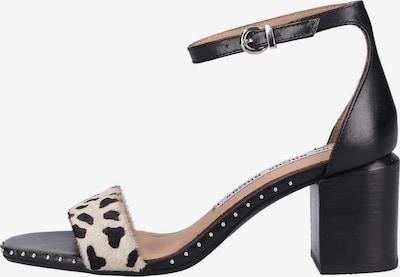 BRONX Sandalen in beige / schwarz, Produktansicht