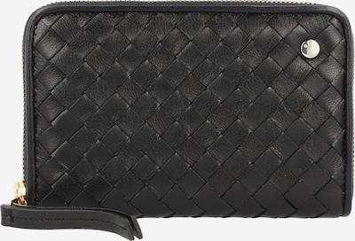 ABRO Portemonnee 'Piuma Weaving' in de kleur Zwart, Productweergave
