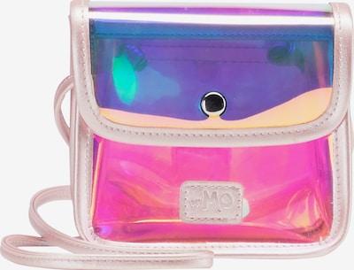 MYMO Schoudertas in de kleur Donkerlila / Sinaasappel / Pink / Poederroze, Productweergave