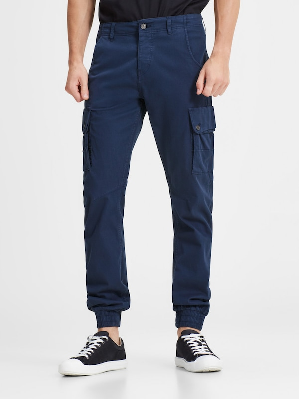JACK & JONES Cargohose 'PAUL WARNER AKM 168'