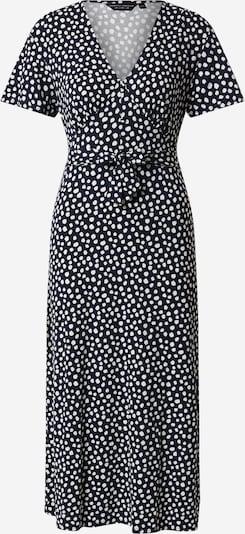 Dorothy Perkins Sukienka 'NAVY SPOT BUTTON THROUGH MIDI DRESS' w kolorze ciemny niebieskim: Widok z przodu