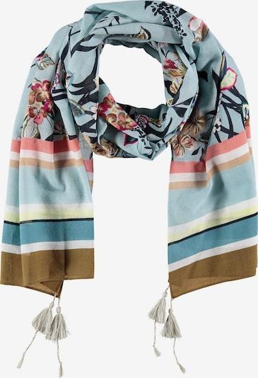 GERRY WEBER Schal Gemusterter Schal mit Tasseln in mischfarben, Produktansicht