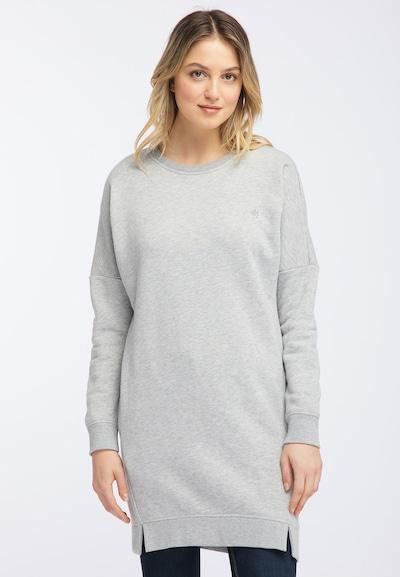 DREIMASTER Sweatshirtkleid in grau, Modelansicht