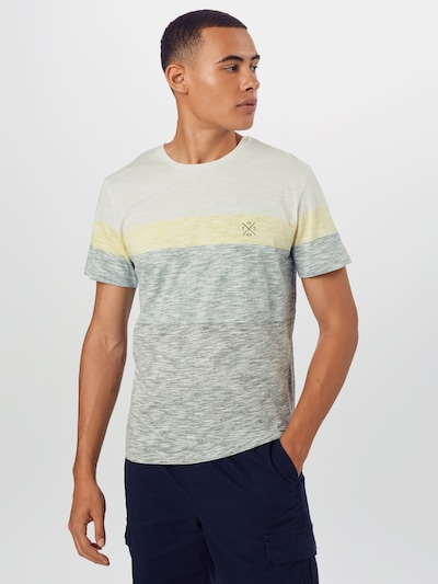TOM TAILOR Shirt in oliv / mischfarben: Frontalansicht