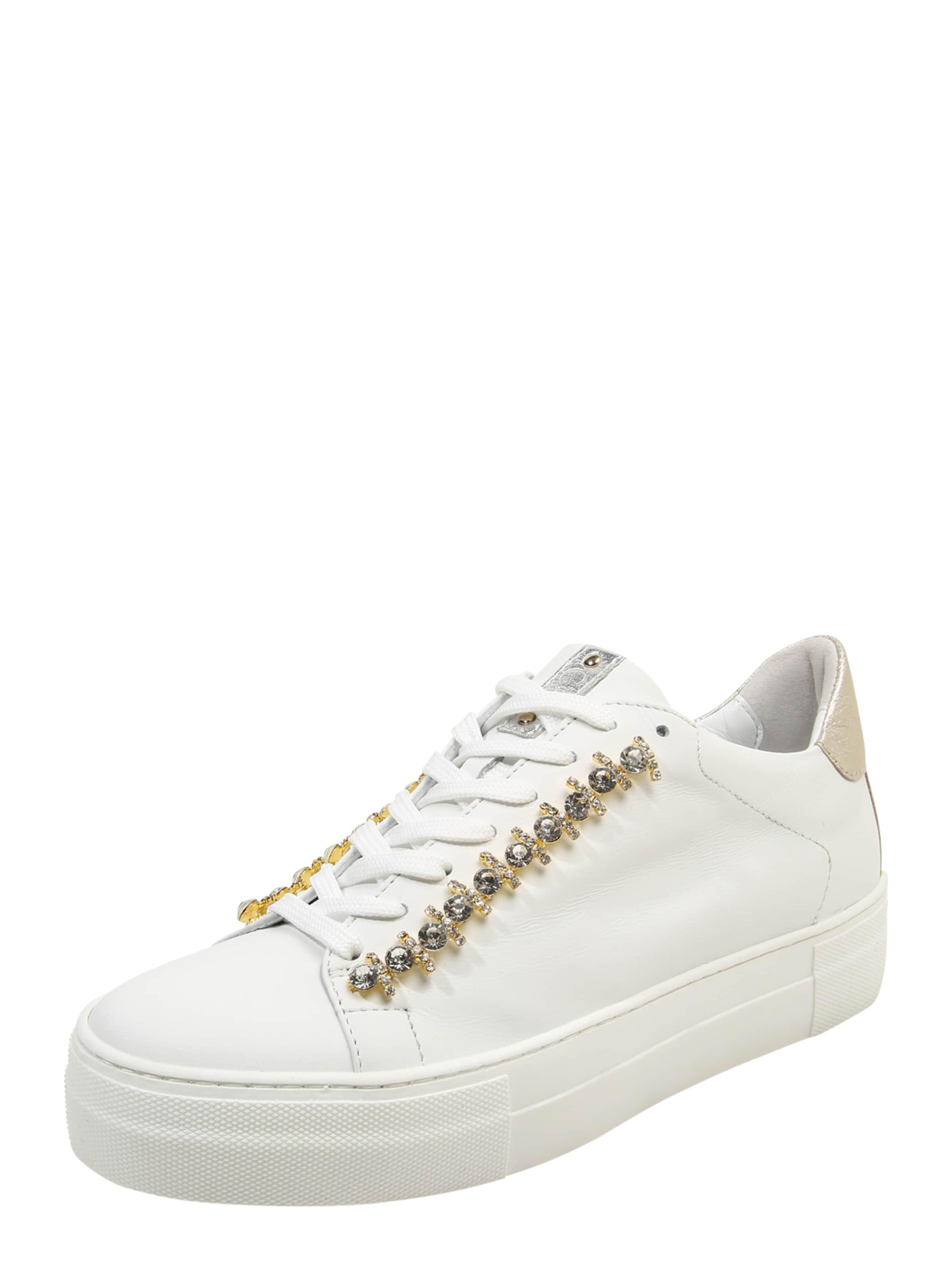 Donna Carolina Sneaker mit Ziersteinen Hohe Qualität