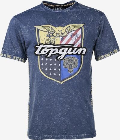 TOP GUN T-Shirt ' Insignia ' in blau, Produktansicht