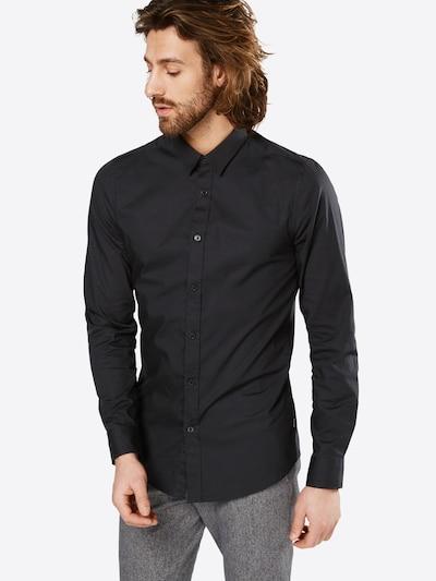 Only & Sons Hemd 'ALFREDO' in schwarz, Modelansicht
