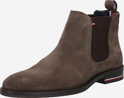 TOMMY HILFIGER Chelsea Boots en brun foncé, Vue avec produit