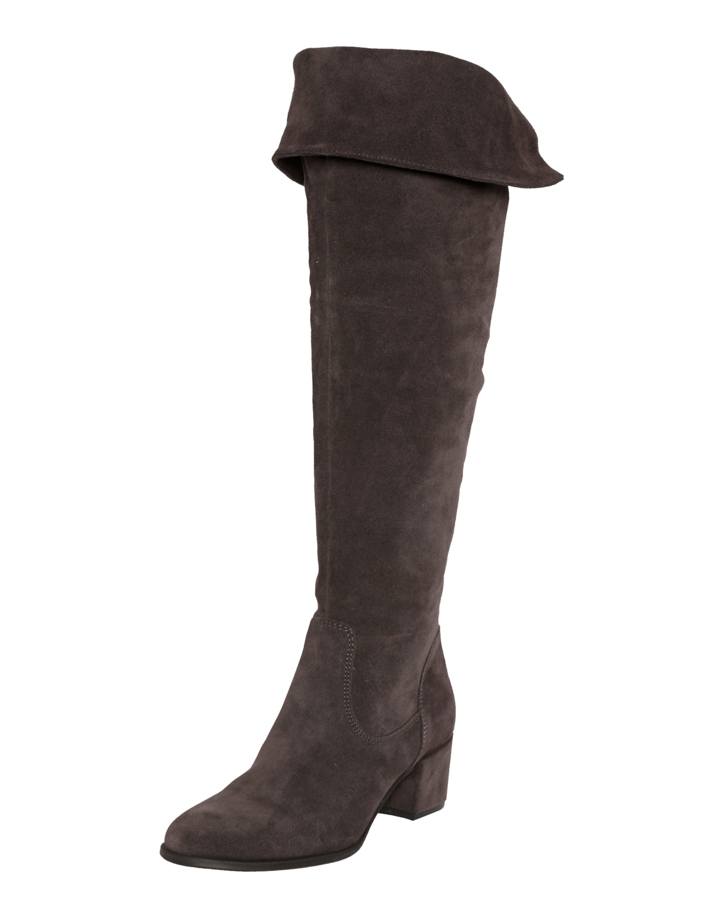 TAMARIS Wildleder Overknees Verschleißfeste billige Schuhe