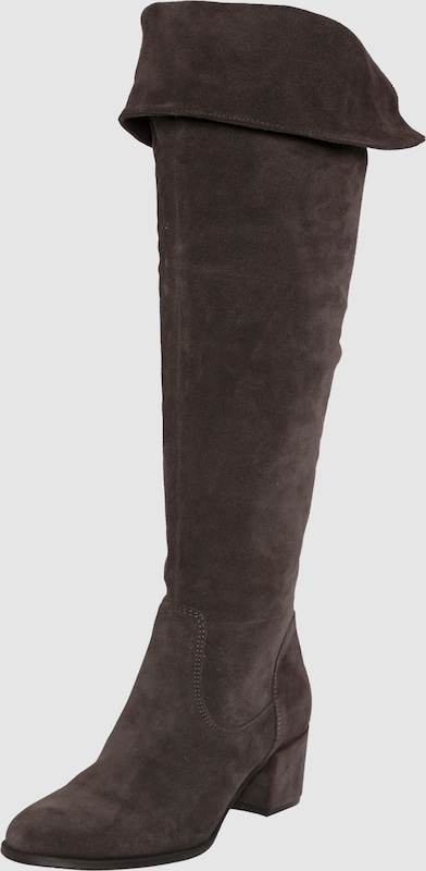 TAMARIS Wildleder-Overknees Leder Bequem, gut aussehend