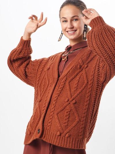 Cream Adīta jaka 'Andrea' pieejami rūsgans: Priekšējais skats