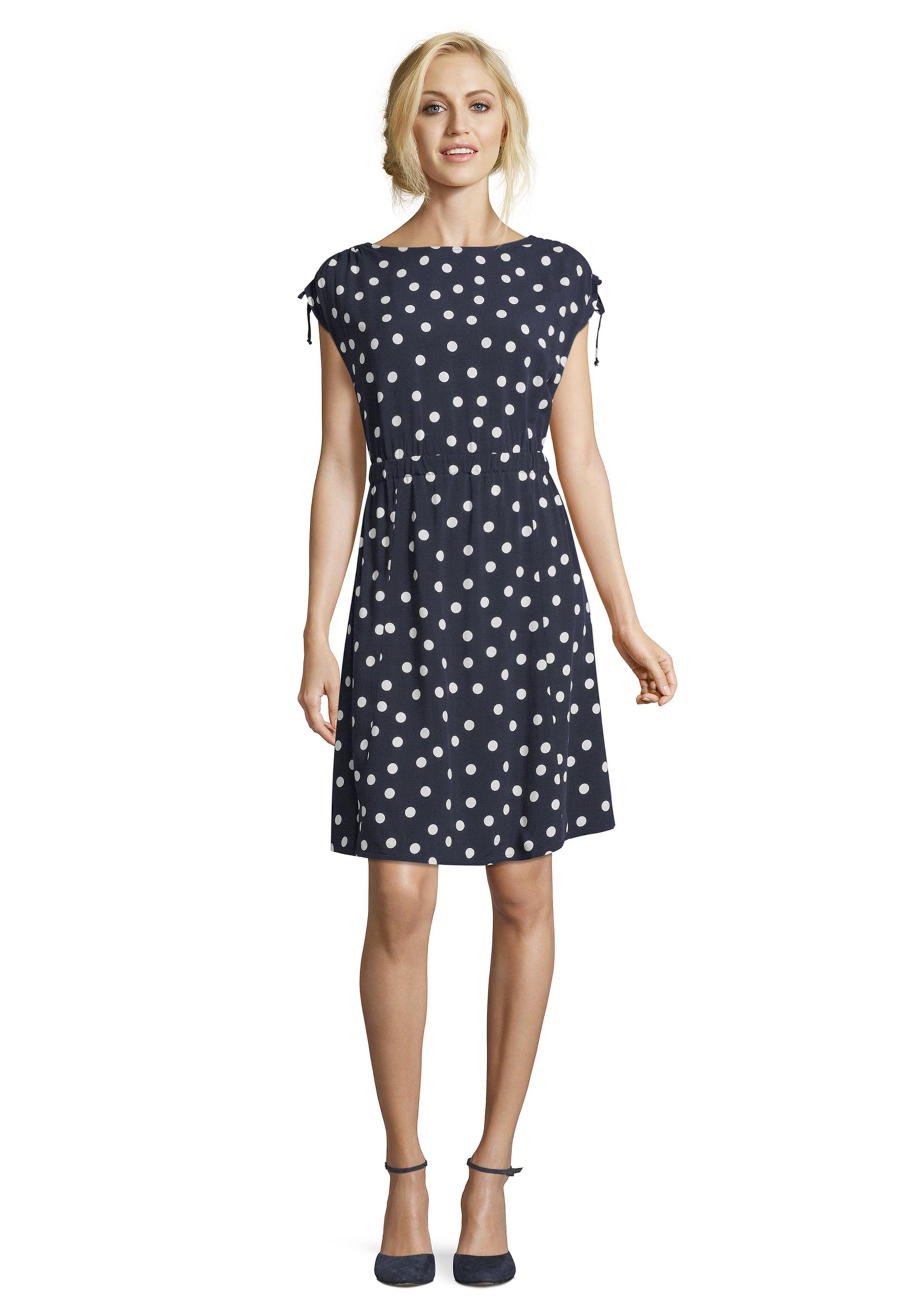 Barclay Barclay Betty Betty In DunkelblauWeiß Kleid DunkelblauWeiß Kleid Kleid In Betty Barclay PXiOTkwZu