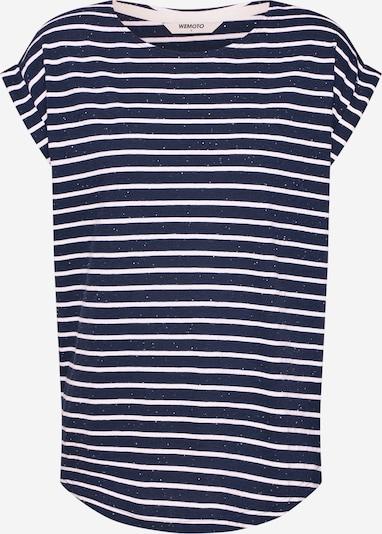 tengerészkék / fehér Wemoto Póló 'BELL STRIPE', Termék nézet