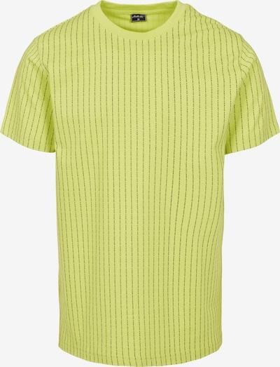 Mister Tee T-Shirt in gelb / schwarzmeliert, Produktansicht