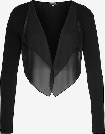 VIVANCE Bolero in schwarz, Produktansicht