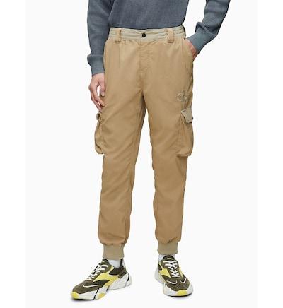 Calvin Klein Slim Cargo Pants ' ' in khaki, Modelansicht