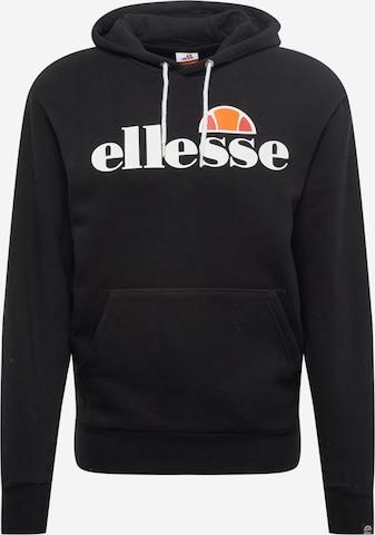 ELLESSE Sweatshirt in Black