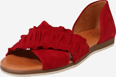 Apple of Eden Slipper 'SS20-CANDY' in rot, Produktansicht